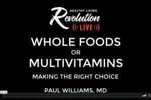 Whole Foods or Multivitamins